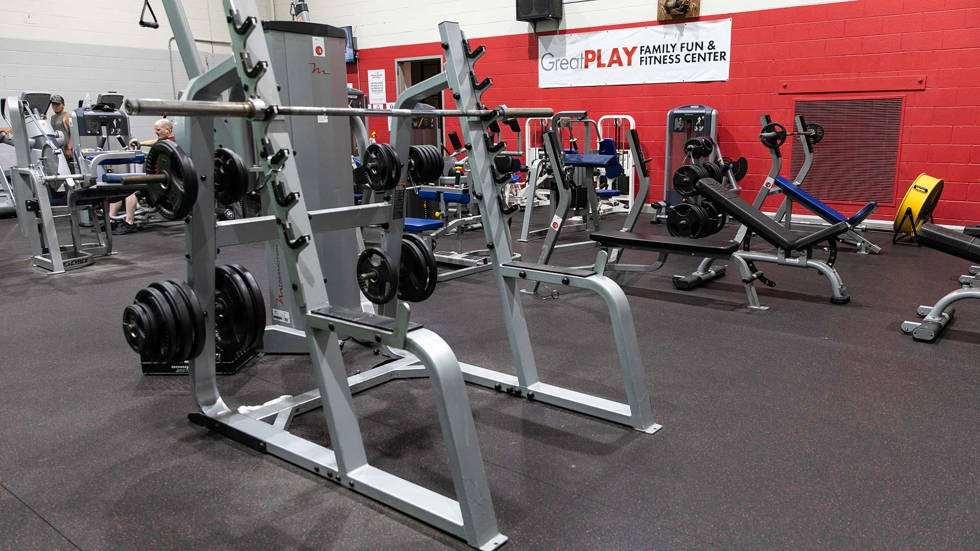 workout facility at greatplay to get exercise in